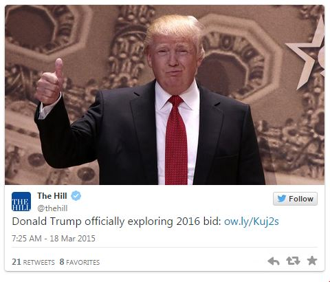 03182015_Donald Trump The Hill Tweet_Twitter