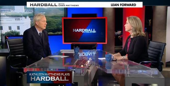 "Image Credit: MSNBC ""Hardball"""