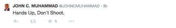 Twitter/ John Muhammad