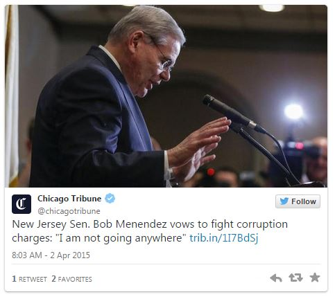 0402015_Chicago Tribune Tweet_Menendez