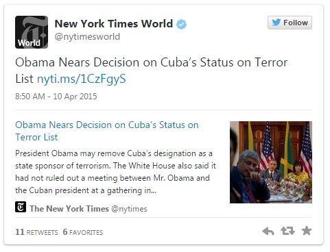 04102015_Cuba Tweet_Twitter