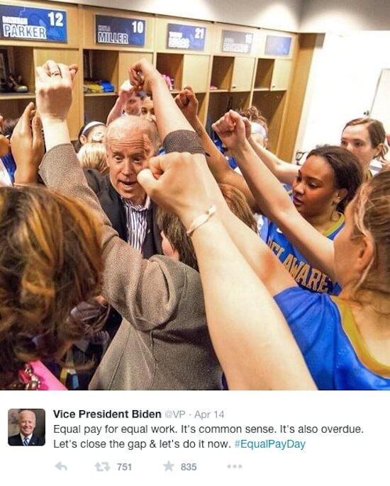 Image Credit: Twitter/Vice President Biden
