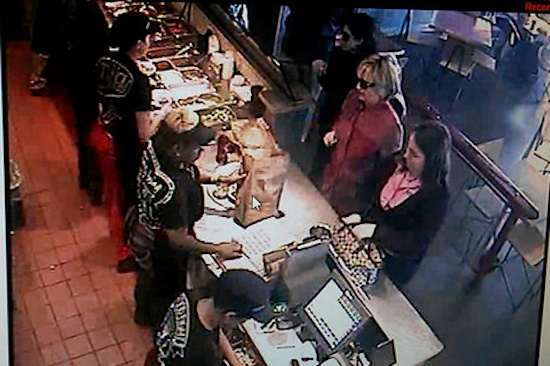 Image Credit: The New York Times/Chipotle security camera