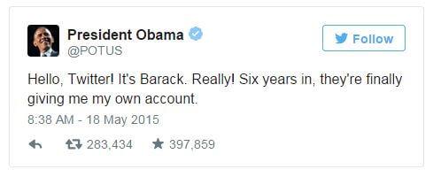 05212015_President Obama Tweet_Twitter