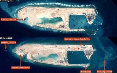 Image Credit: Fiery Cross Reef/Janes Military
