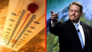 WCJ images Al Gore temps