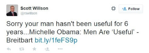 Michelle Obama Men Are Useful