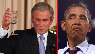 WCJ images Bush v Obama