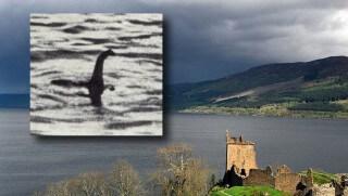 WJ images Loch Ness Monster