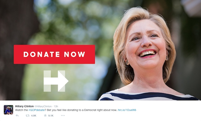 Image Credit: Twitter/@HillaryClinton