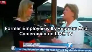 News Reporter Shot Live on TV