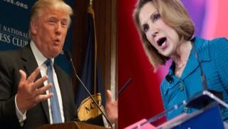 Trump Fiorina Split
