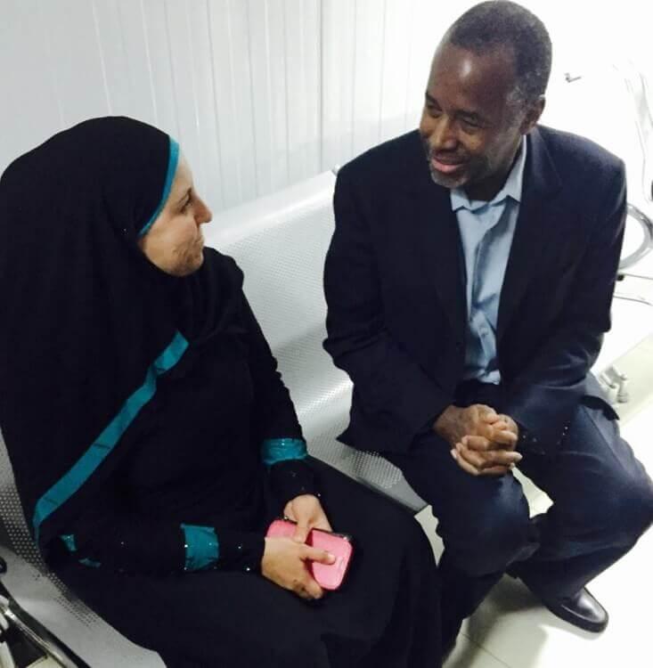 Dr. Ben Carson, Amman, Jordan. image credit: Ben Carson Facebook