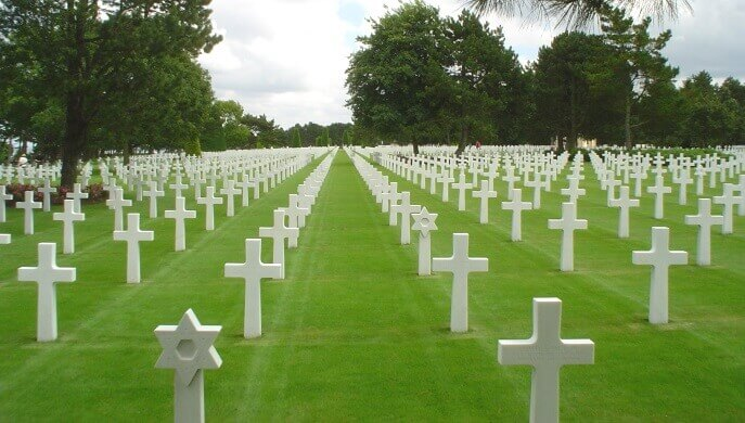 Image Credit: Public Domain - Normandy American Cemetery