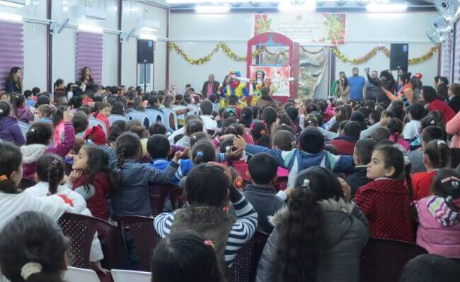 Image Credit: Christmas for Refugees - Iraq
