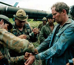 Eugene Hasenfus: Downing of his plane on October 5, 1986 in Nicaragua exposed Iran-Contra