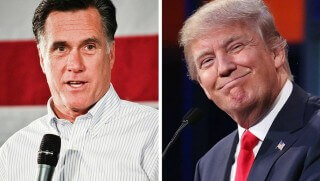 Mitt and Trump