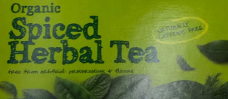Gold Elblem Abound Organic Spiced Herbal Tea. Image Credit: Video Screenshot