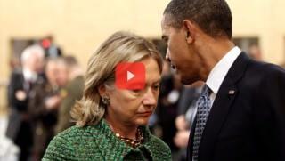 Hillary and Barack obama