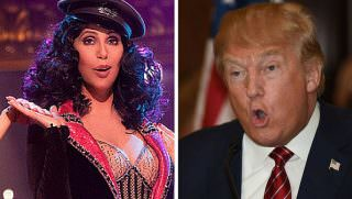 cher and trump