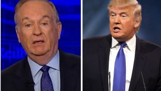 trump and bill oreilly