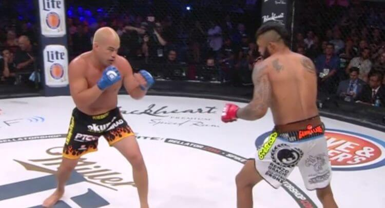 Tito Ortiz vs. Liam McGeary. Image Credit: Video Screenshot