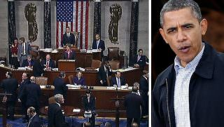 house of rep and obama