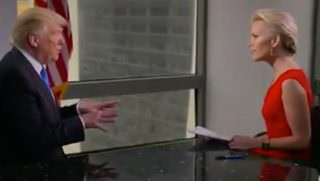 kelly interview w trump
