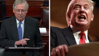 mcconnell and trump