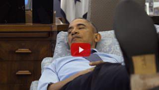 obama relax