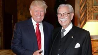 trump and his butler