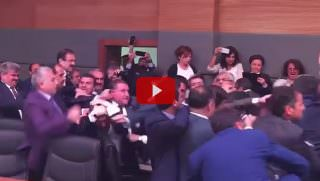 turkish govt brawl
