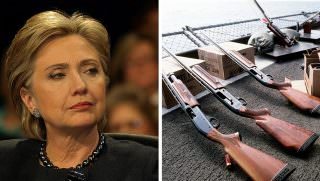 clinton and guns