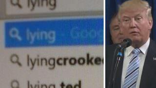 trump google search
