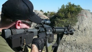GUY WITH his ar-15