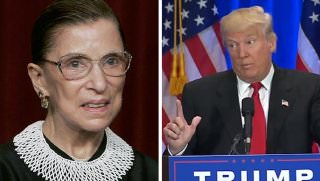 ginsburg and trump