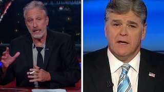 hannity and jon stewart