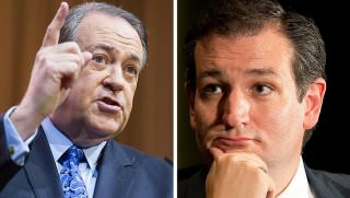 huckabee and cruz