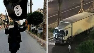 isis and truck