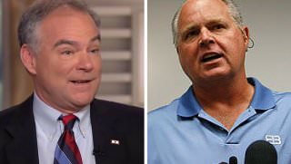 kaine and limbaugh