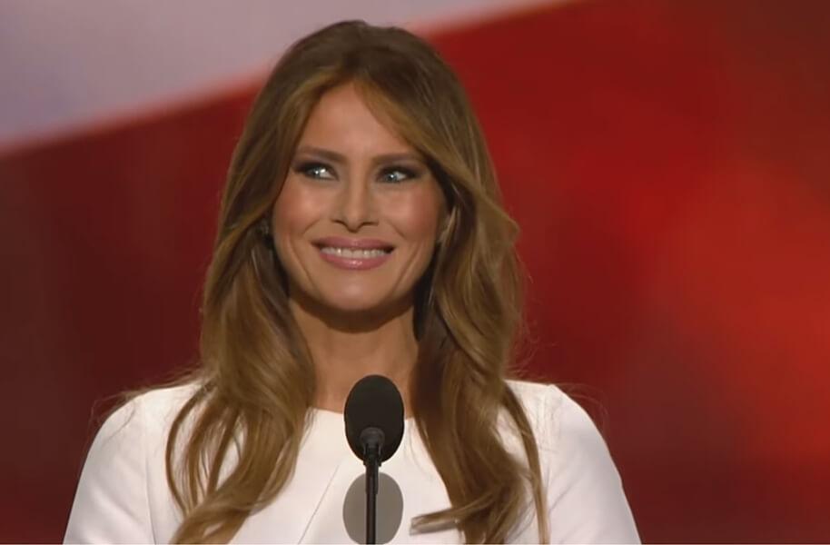 ... Of Justice Deletes 'Inappropriate' Tweet Concerning Melania Trump