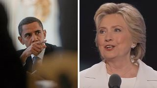 obama and hillary