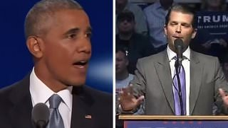 obama and trump jr
