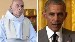priest and obama
