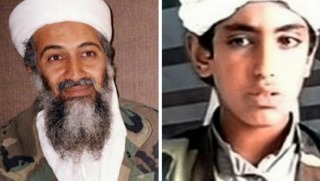 bin laden and son