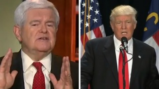 gingrich and trump