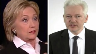 hillary and assange
