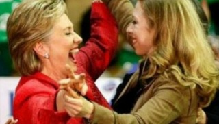 hillary and chelsea clinton