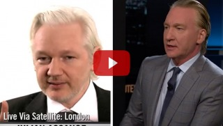 maher and assange