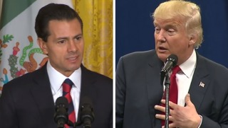mex president and trump